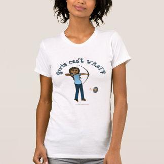 Dark Women's Archery in Blue T-Shirt