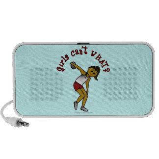 Dark Womens Discus iPod Speaker