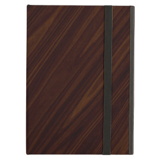 Dark wood case for iPad air