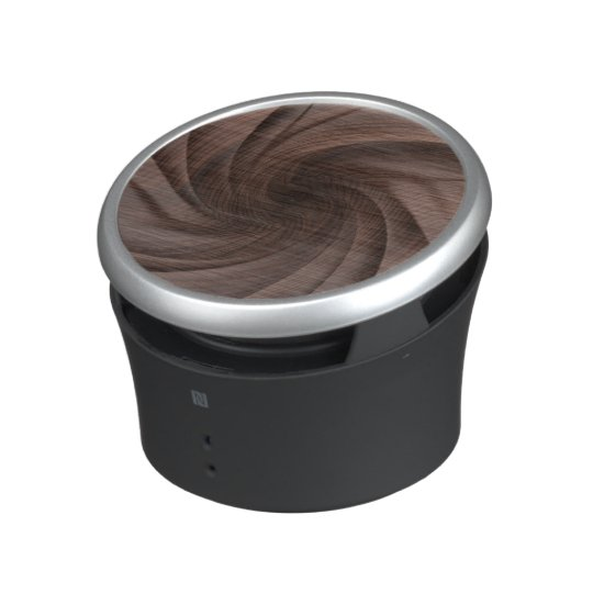 Dark Wood design bluetooth speaker