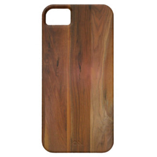 Dark Wood Grain Floor iPhone 5 Covers
