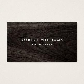 Dark wood grain professional profile