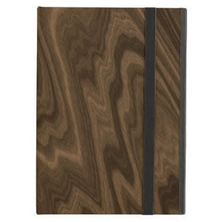 Dark wood iPad air case