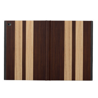 Dark Wood Rosewood Stripes - Wood Grain Look Powis iPad Air 2 Case