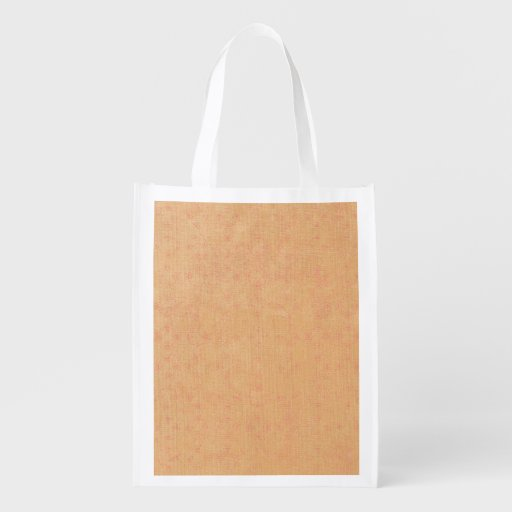 Dark Yellow Canvas Grocery Bags