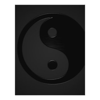 Dark Yin and Yank - Yin Yang Personalized Flyer