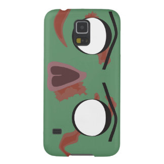 Dark Zombie Face Galaxy S5 Covers