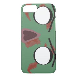 Dark Zombie Face iPhone 7 Case
