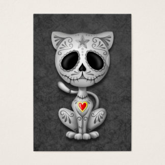 Dark Zombie Sugar Kitten Business Card