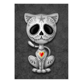 Dark Zombie Sugar Kitten Business Cards