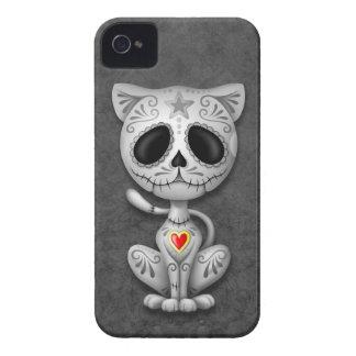 Dark Zombie Sugar Kitten iPhone 4 Case