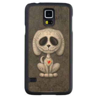 Dark Zombie Sugar Puppy Carved Maple Galaxy S5 Case