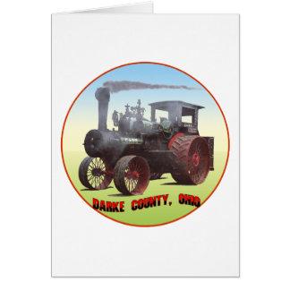 Darke County Ohio Card