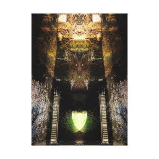 darken tower canvas print