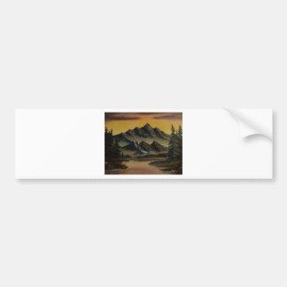 Darkened Horizon Bumper Sticker