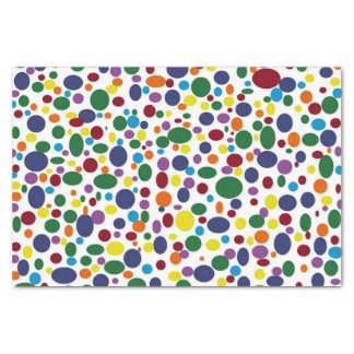 Darker Rainbow Bubbles Tissue Paper