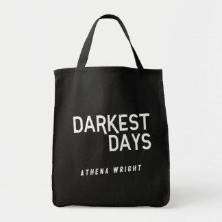 Darkest Days by Athena Wright Black Tote Bag