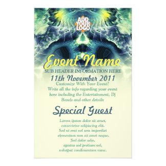 DarkEyez Fractal Art Custom Event Flyer