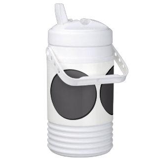 DarkGrey Dot Drinks Cooler