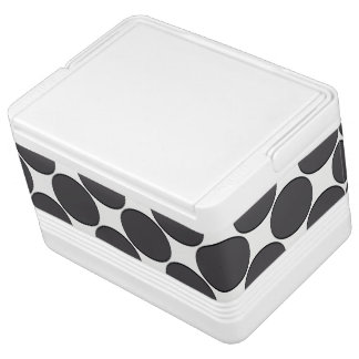 DarkGrey Dot Igloo Cool Box