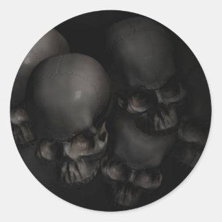 Darkness Falls Round Sticker