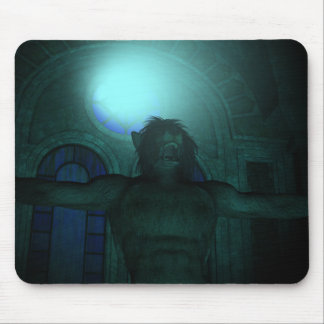 Darkness of Light Mouse Pad