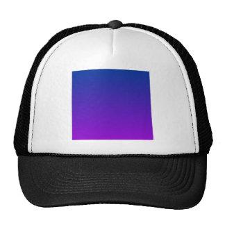 DarkPowder Blue to Dark Violet Horizontal Gradient Cap