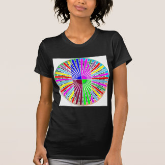DarkShade OVAL ROUND Artistic COOL T-shirts