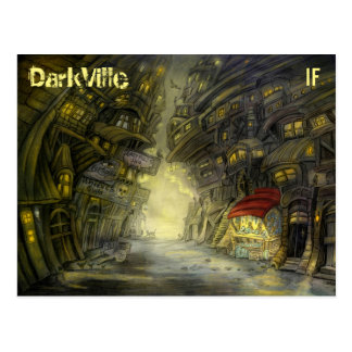 DarkVille postcard by Mike Winterbauer