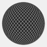 Darkworld Round Sticker
