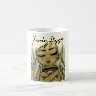 Darla Diggs Basic White Mug