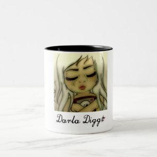 Darla Diggs Two-Tone Mug