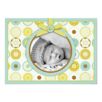 Darling Baby Toes Announcement Card