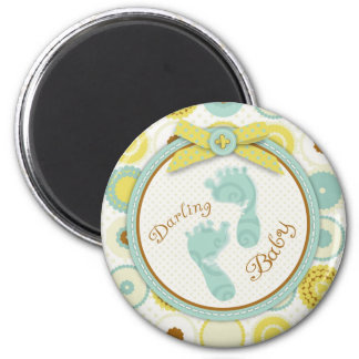 Darling Baby Toes Magnet