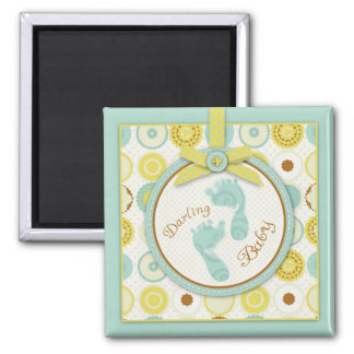 Darling Baby Toes Magnet B