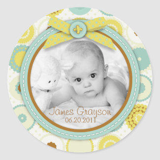 Darling Baby Toes Photo Sticker