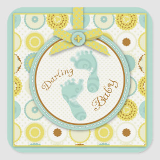 Darling Baby Toes Sticker B