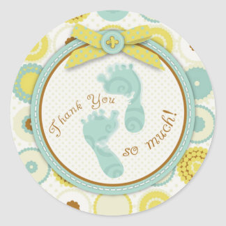 Darling Baby Toes TY Sticker