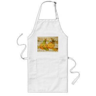Darling Clementines for Christmas Long Apron