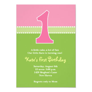Darling Days Personalized Invite