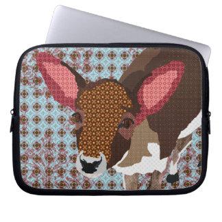 Darling Deer Blue Computer Sleeve