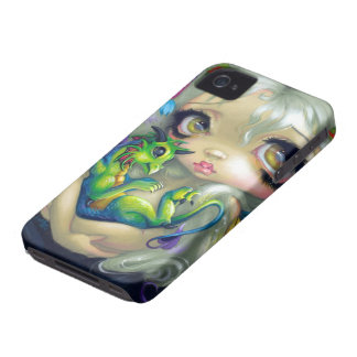 """Darling Dragonling IV"" iPhone 4 Case"