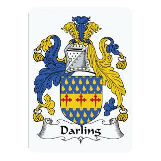 Darling Family Crest Custom Invite