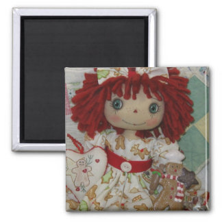 Darling Gingerbread Annie Magnet