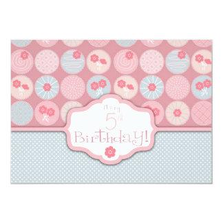 Darling Girl Birthday Invitation Card