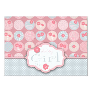 Darling Girl Invitation Card