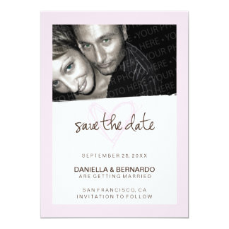 Darling Heart Save The Date Announcement
