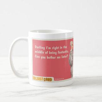 darling I'm fantastic Basic White Mug