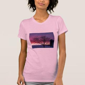 Darling Sunset Farm Design T-Shirt