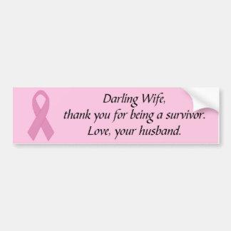 Darling Wife... Car Bumper Sticker